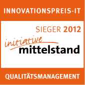 Innovationspreis-IT Sieger 2012 Qualitätsmanagement