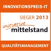 Innovationspreis-IT Sieger 2013 Qualitätsmanagement